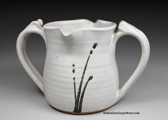 Double Handled Gravy Pitcher