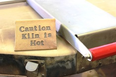 Caution! Kiln is Hot